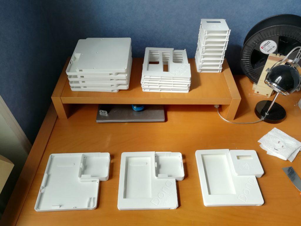 Tablette de dons - production en masse impression 3D