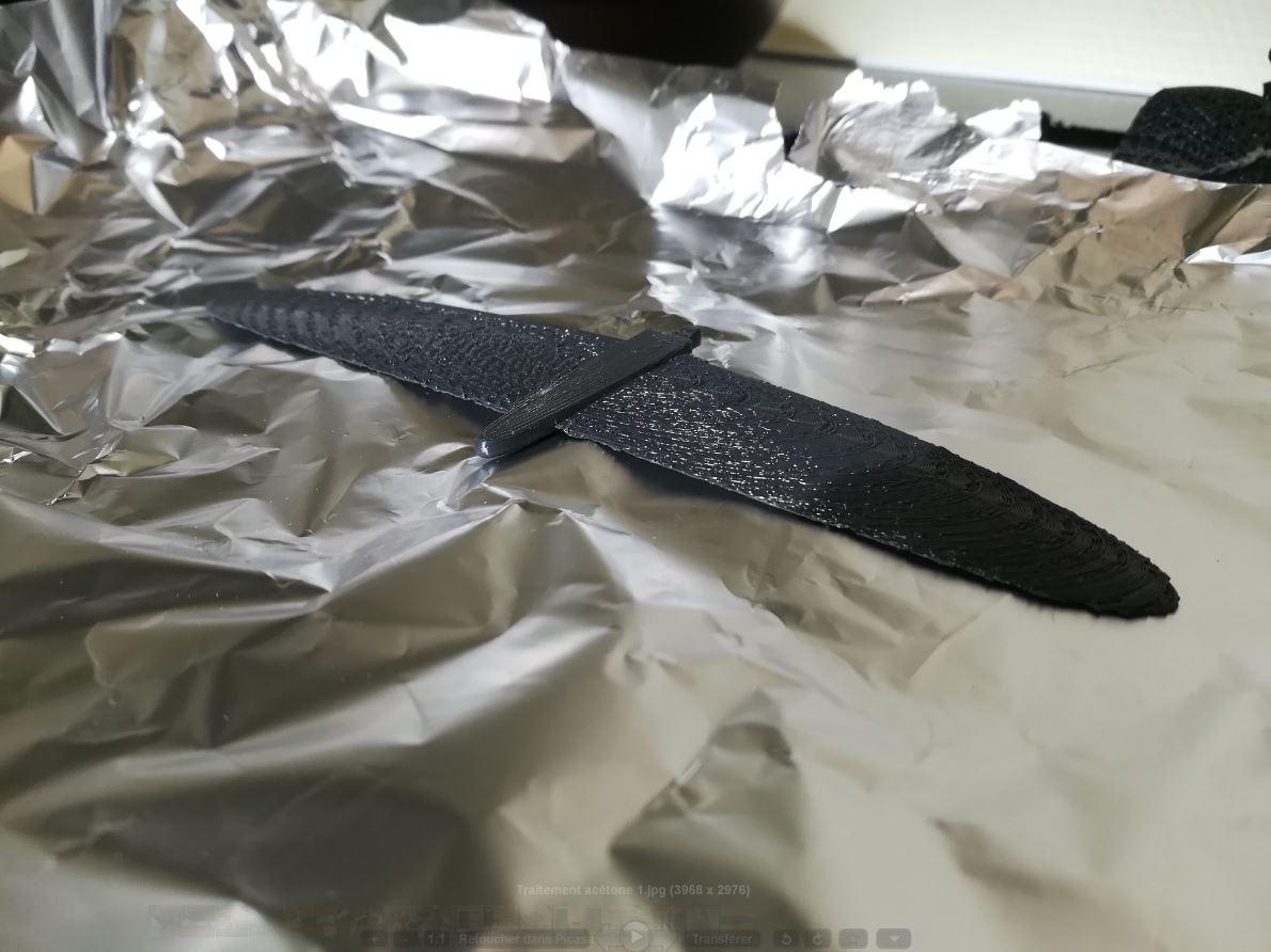 Traitement acétone 1