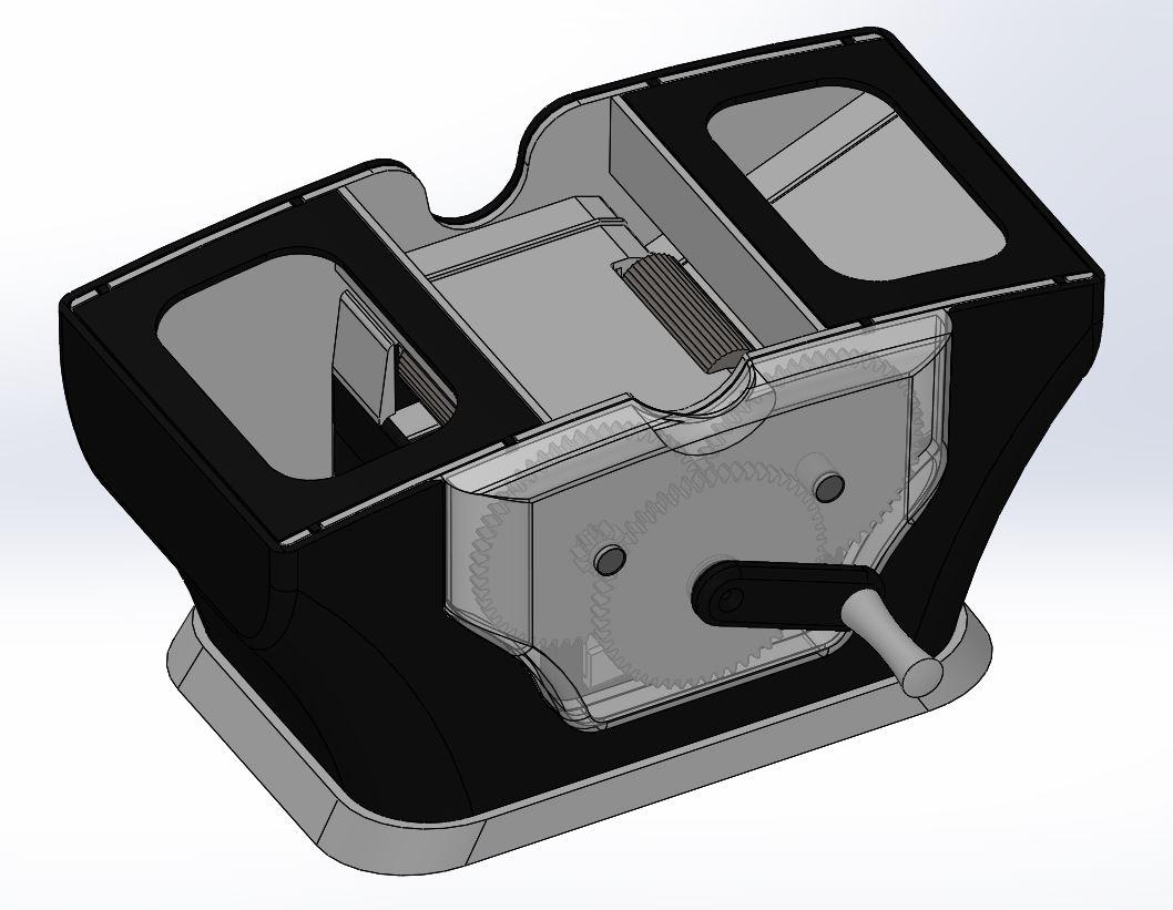 Mélangeur de cartes modèle 3D