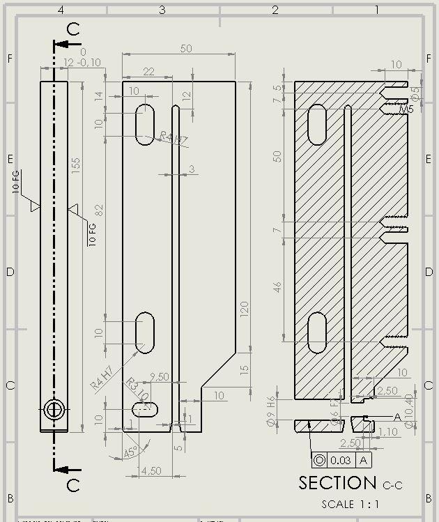 2D milling plan