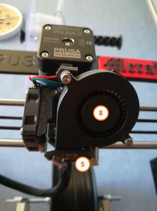 3 Tête extrusion imprimante 3D Prusa