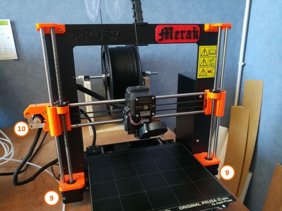 4 Portique imprimante 3D Prusa