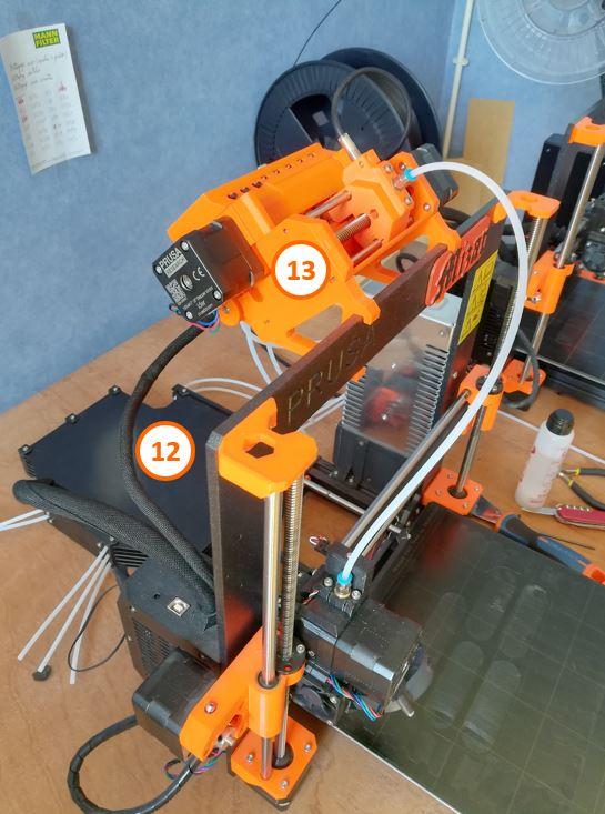 6 MMU imprimante 3D Prusa