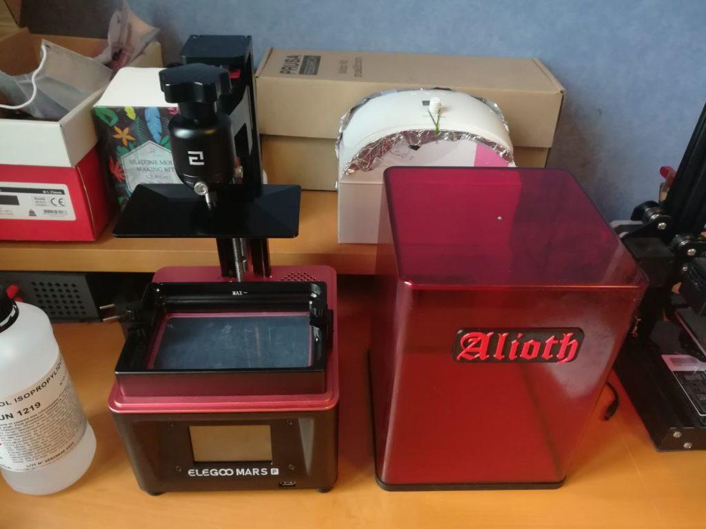 Imprimante 3D Elegoo Mars Pro