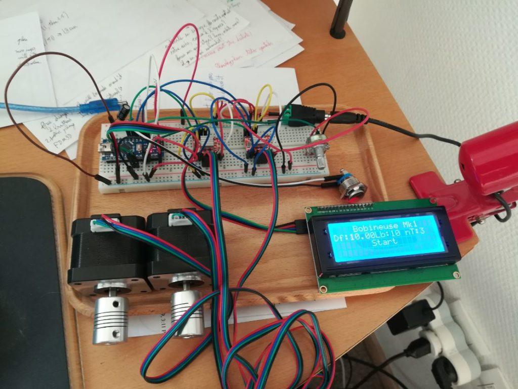 Composants électroniques de prototypes